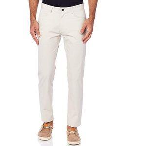 Calvin Klein Men's 33W x 30L Stretch Sateen Pants